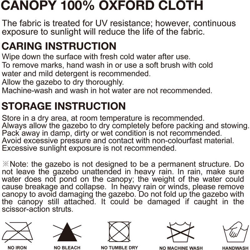 gazebo instructions 3x6. h m s remaining gazebo instructions 3x6