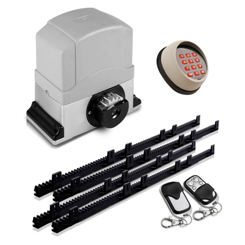 Automatic sliding gate opener w 2 remotes 1200kg buy for Motorized sliding gate systems