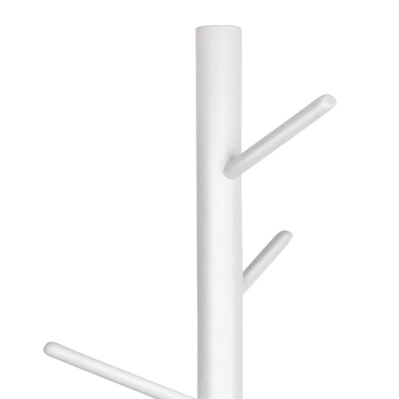 Wooden coat rack clothes stand hanger in white buy coat White wooden coat hooks