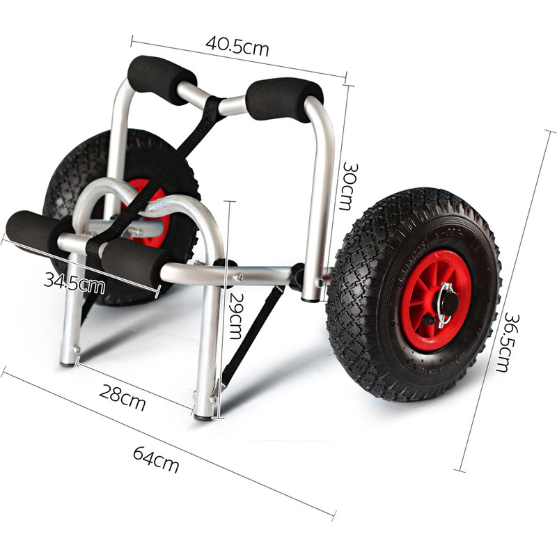 Heavy Duty Aluminium Kayak Trolley Up To 100kg Buy Kayak