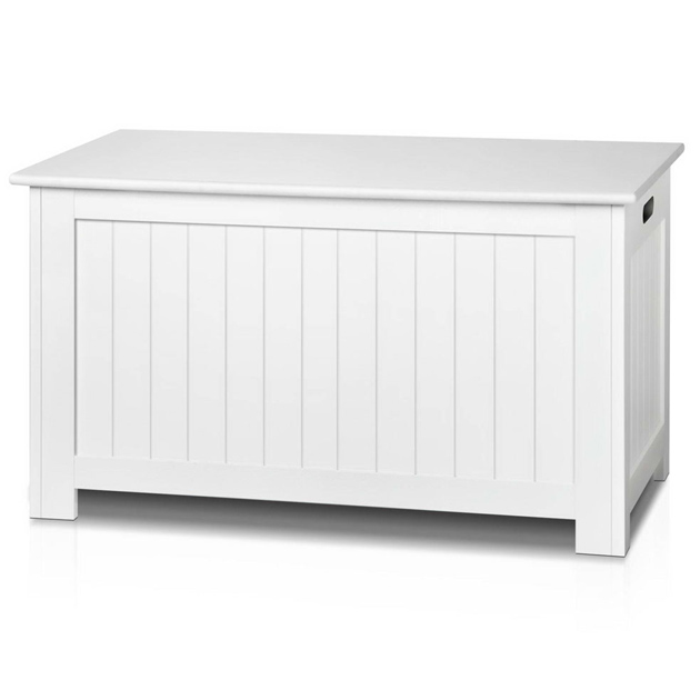 Kids Mdf Wood Blanket Box Toy Storage Chest White Buy