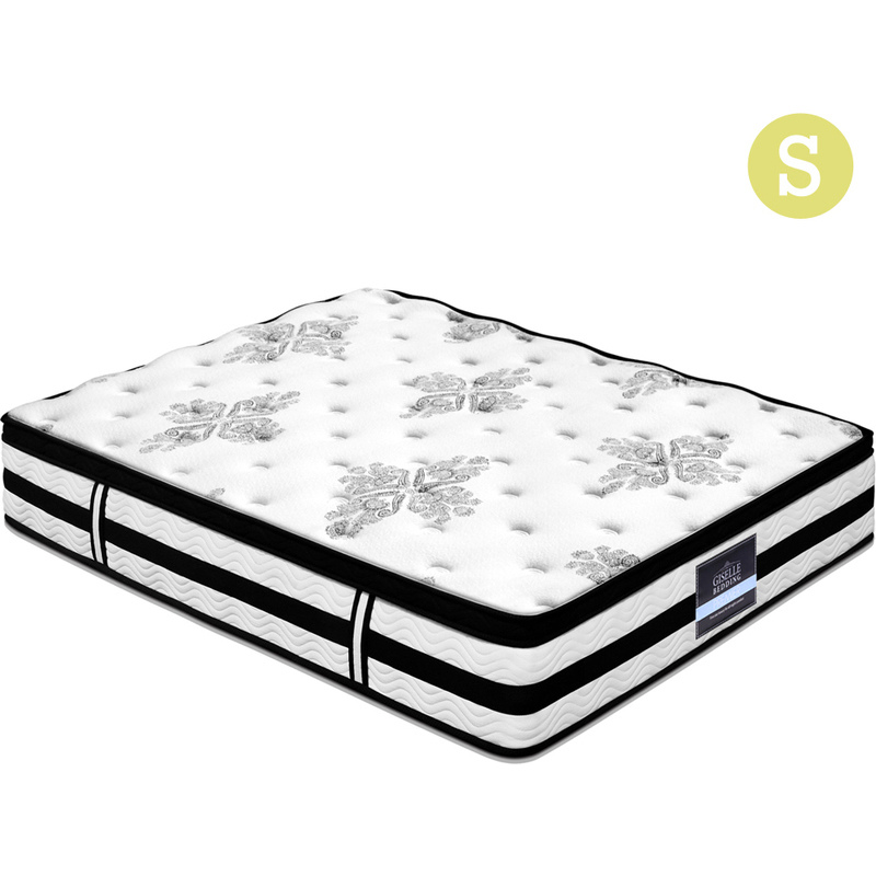 giselle bedding single size 34cm thick foam mattress buy single mattress 9350062109014. Black Bedroom Furniture Sets. Home Design Ideas