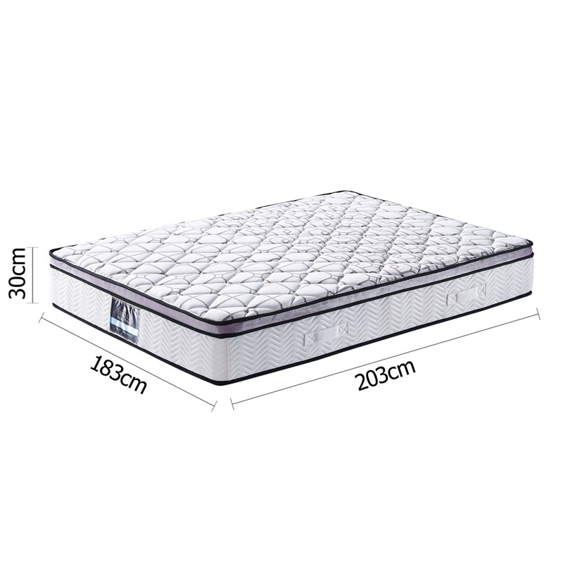 King size euro top gel infused memory foam mattress buy double bed mattress Memory foam mattress king size sale