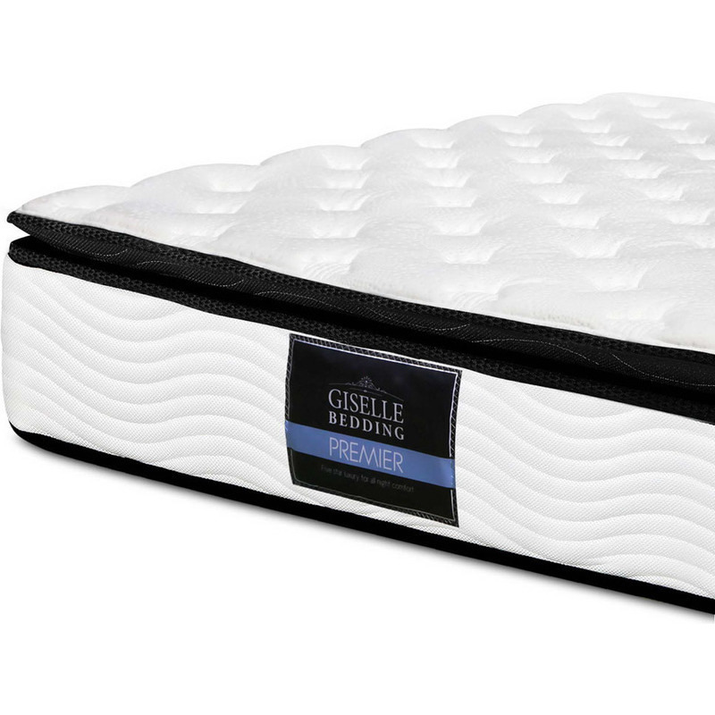 Giselle King Size Pillow Top Mattress 28cm H M S Remaining