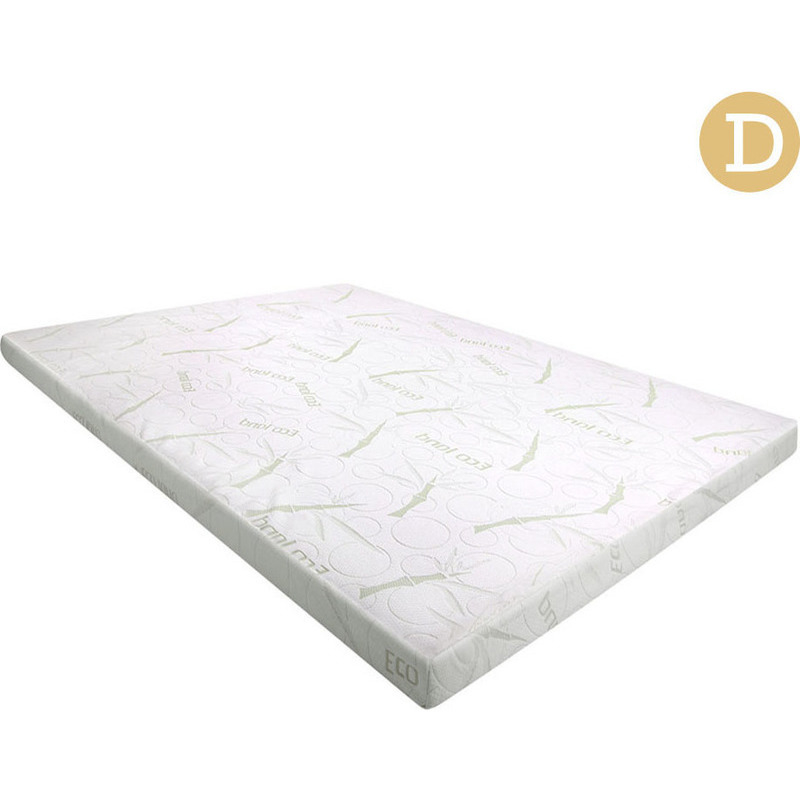 Double cool gel memory foam mattress topper 5cm buy double mattress toppers Double mattress memory foam