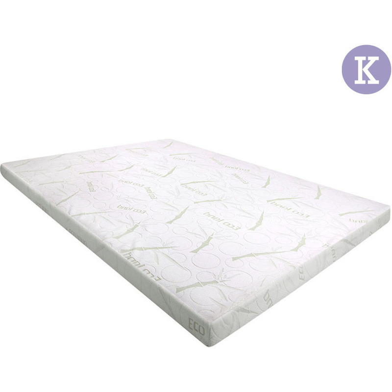 King Size Cool Gel Memory Foam Mattress Topper 5cm Buy King Size Mattress Toppers