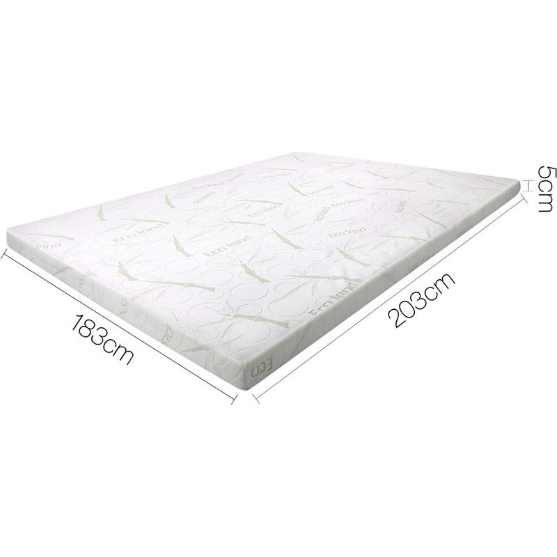 King size cool gel memory foam mattress topper 5cm buy king size mattress toppers Memory foam mattress king size sale