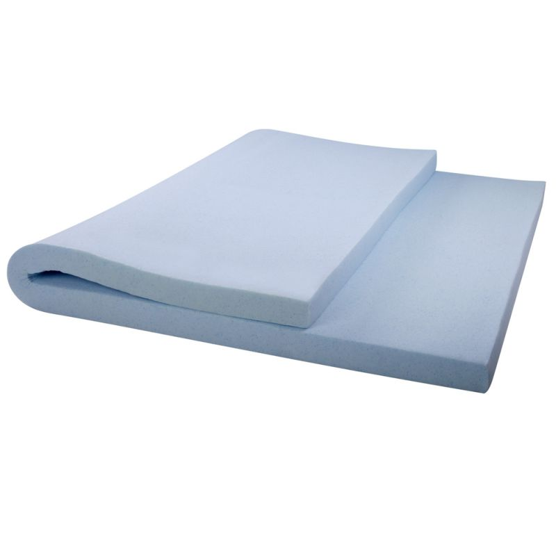 cool gel memory foam mattress topper queen 8cm