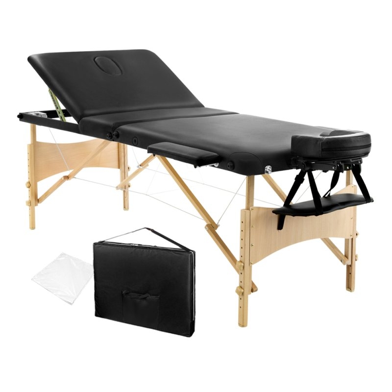 3 fold portable firm and fold massage table 70cm - Massage Tables For Sale
