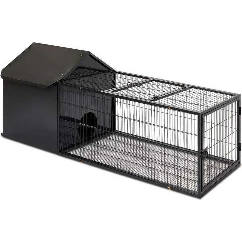 Ideal Large Sized Guinea Pig Rabbit Hutch with Run | Buy Animal Hutches DV05