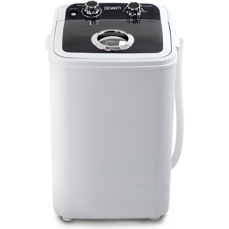 Portable Washing Machine amp Spin Dry in White 46kg Buy  : PWM S 46 BK 02 from www.mydeal.com.au size 800 x 800 jpeg 111kB