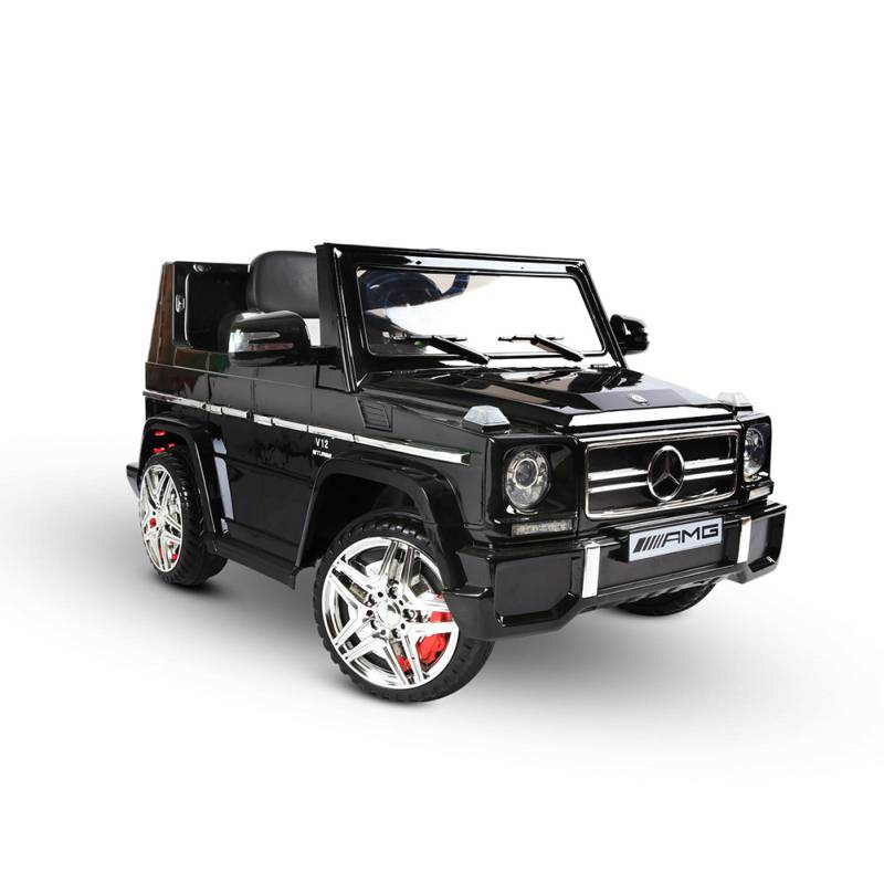 kids mercedes benz ride on car w remote in black buy. Black Bedroom Furniture Sets. Home Design Ideas