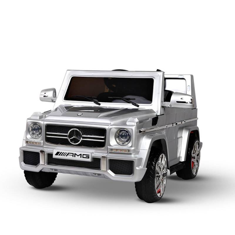Licensed Mercedes Kids Ride On Car In Silver 12v Buy