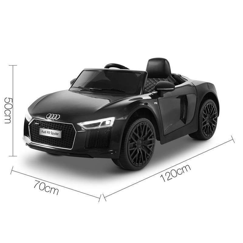 Licensed Audi Kids Electric Ride On Car In Black Buy Ride On Toys