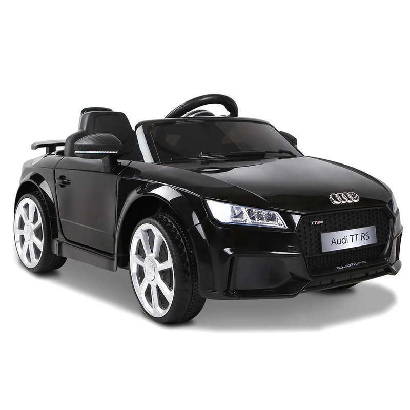 Rigo Kids Ride On Audi Tt Rs Black Buy Audi 206686