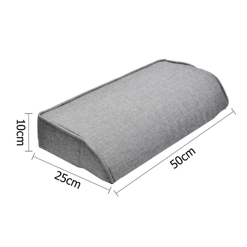 3 Seat Sofa Bed Lounge w 2 Cup Holders in Grey Buy Sofa  : SBED R1C LINEN BK03 from www.mydeal.com.au size 800 x 800 jpeg 92kB