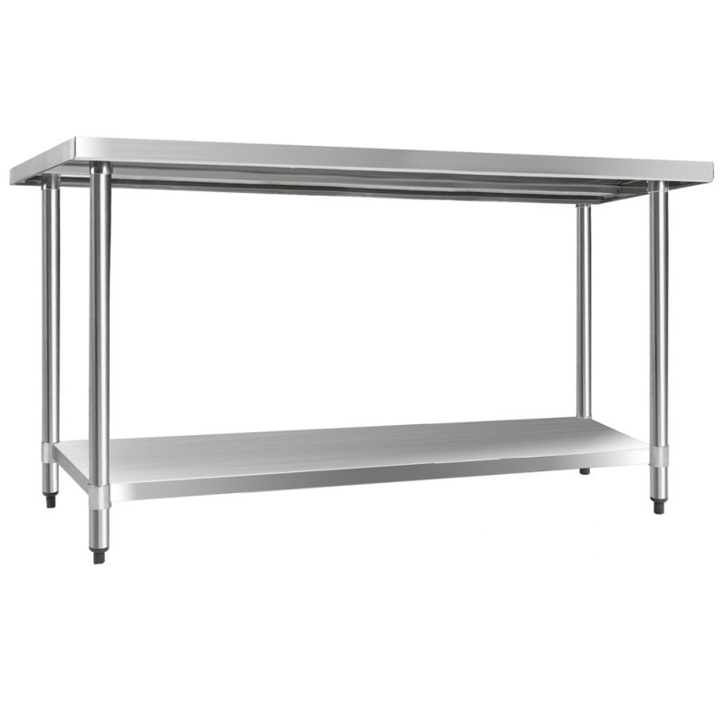 Cefito 610 X 1524mm Commercial Stainless Steel Kitchen