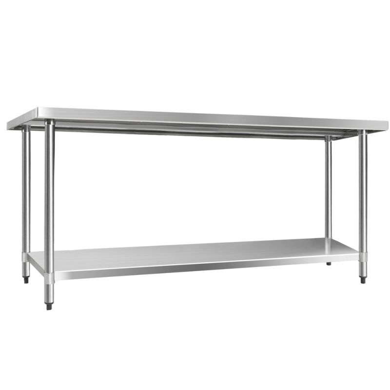430 Stainless Steel Kitchen Work Bench Table 1829mm Buy  : SSKB 430S 72 02 from www.mydeal.com.au size 800 x 800 jpeg 75kB