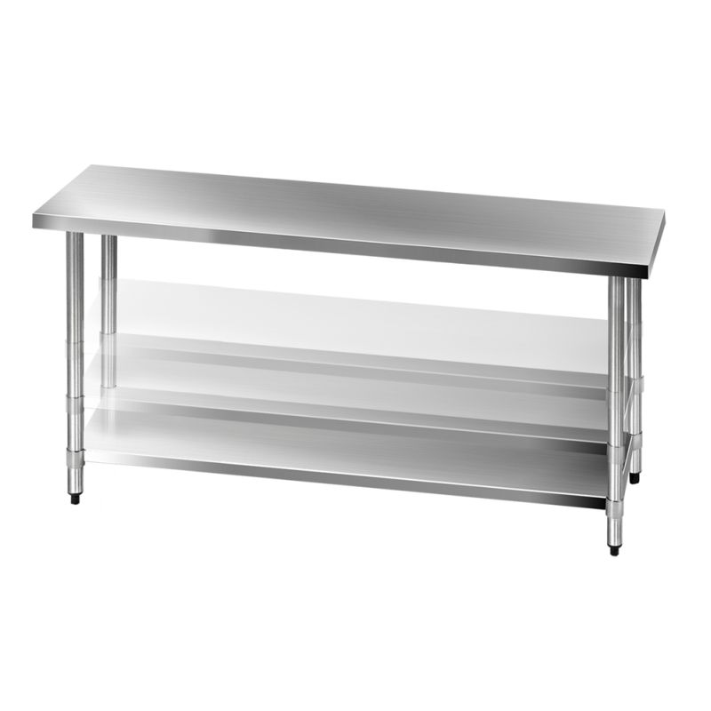 430 Stainless Steel Kitchen Work Bench Table 1829mm Buy Stainless Steel Benches