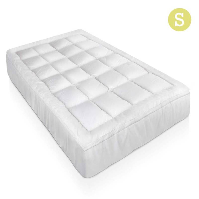 Single Bamboo Pillow Top Mattress Topper Pad 5cm Buy