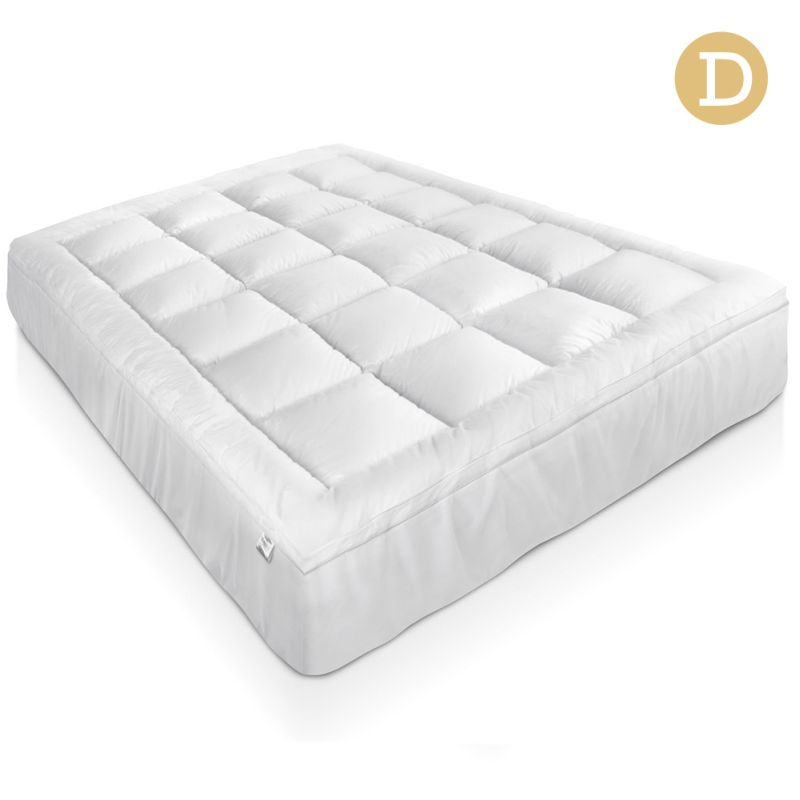 duck feather down mattress topper