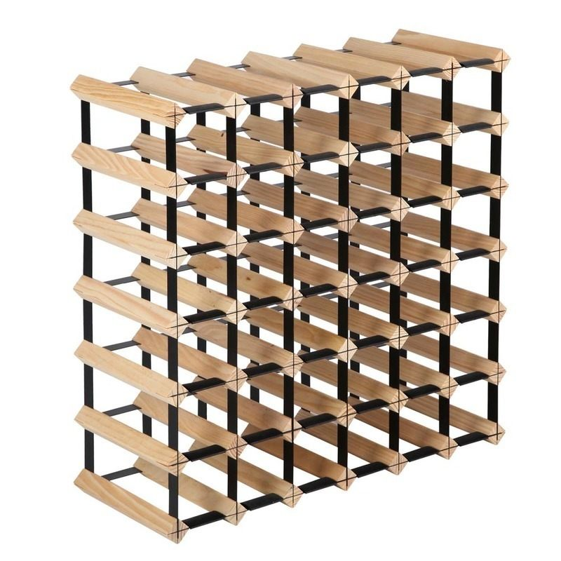 Superbe 42 Bottle Timber Wine Rack Storage System