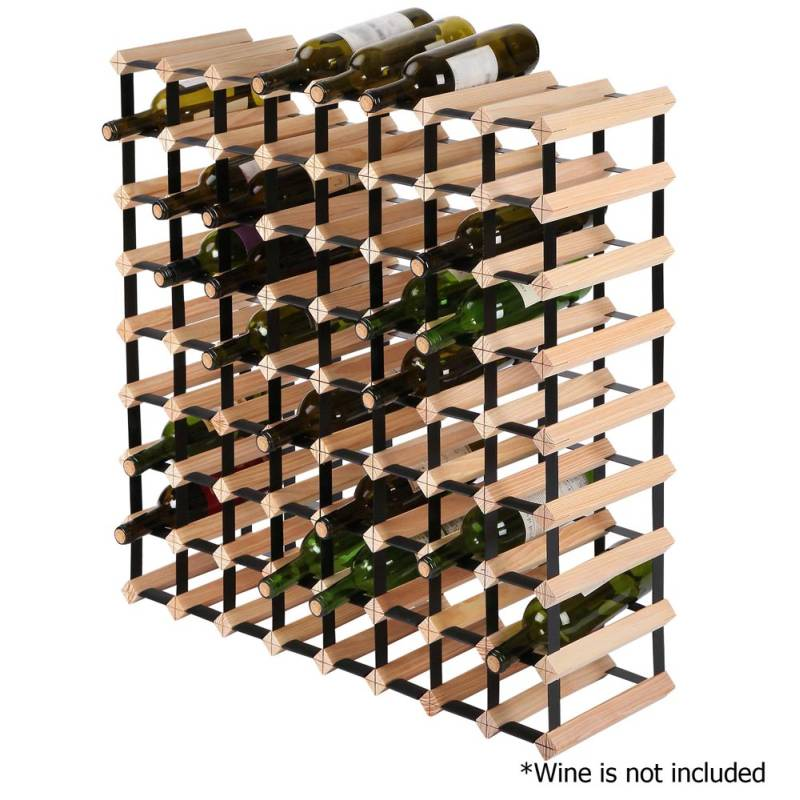 72 Bottle Timber Wine Rack Wine Storage System Buy Sale