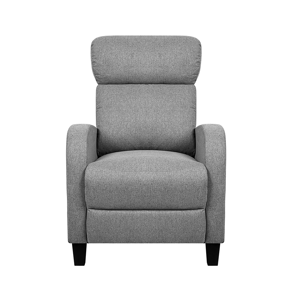 Artiss Fabric Reclining Armchair - Grey | Buy Recliner ...
