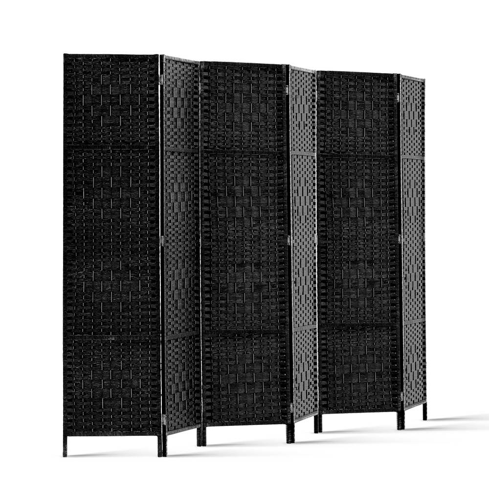 Peachy Artiss 6 Panel Room Divider Black Download Free Architecture Designs Embacsunscenecom