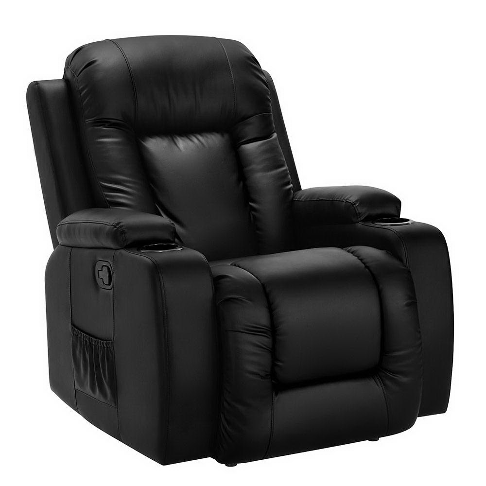 Artiss Luxury Electric Massage Chair Recliner Sofa Lounge