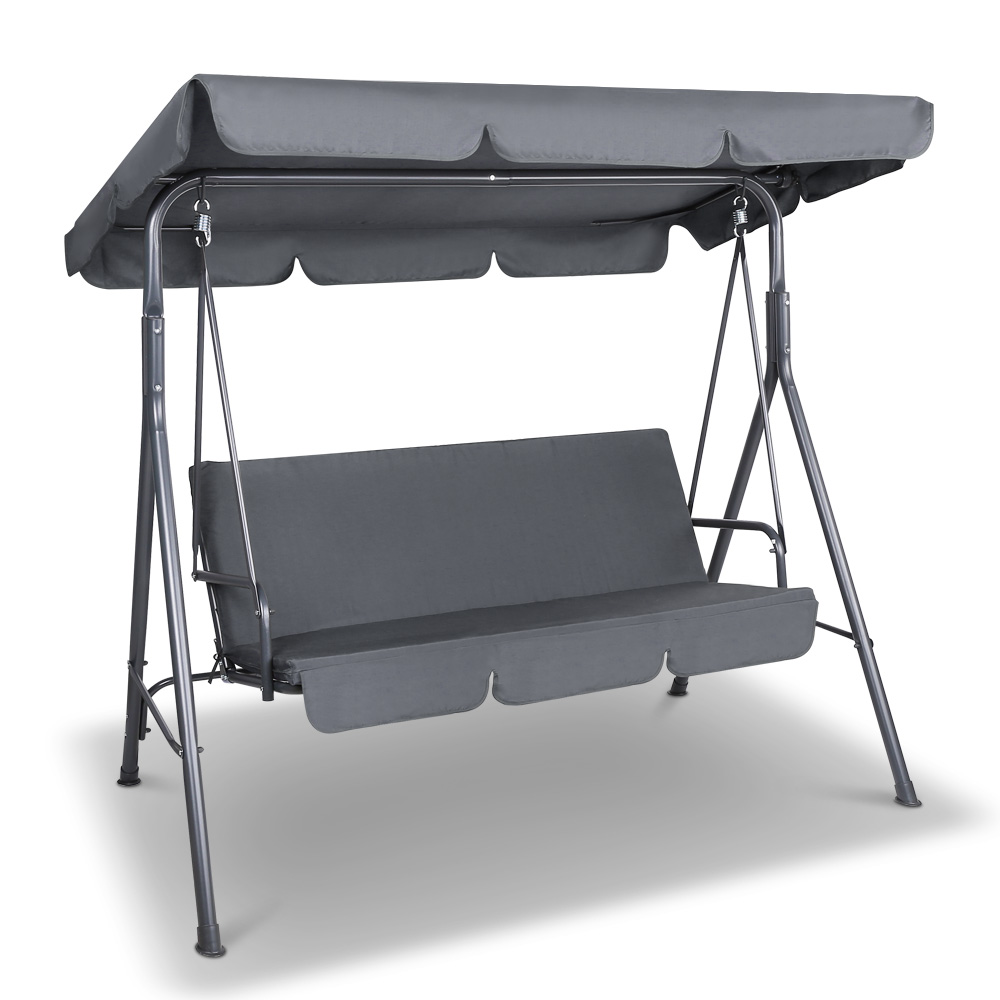 Gardeon Swing Chair With Canopy Grey Buy Hanging