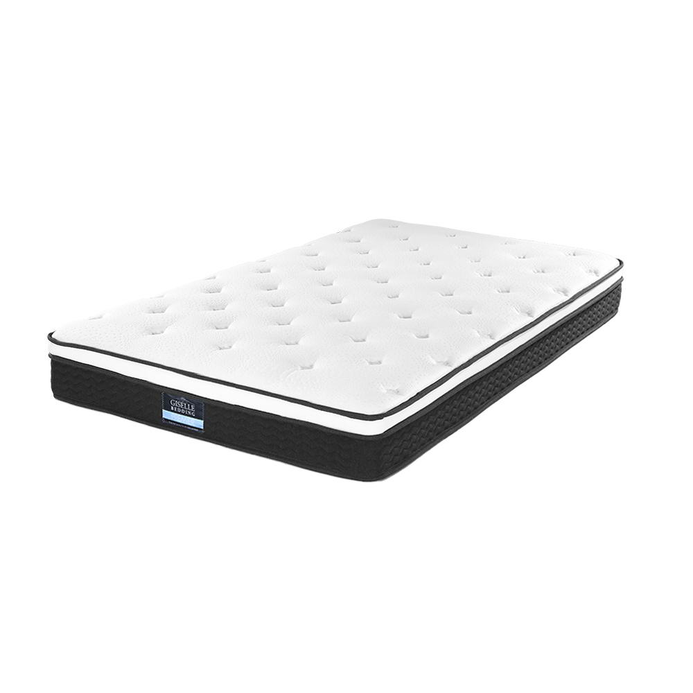 new arrival 6e2d8 27776 Giselle Bedding SINGLE Size Mattress Euro Top Bed Bonnell Spring Foam 21cm