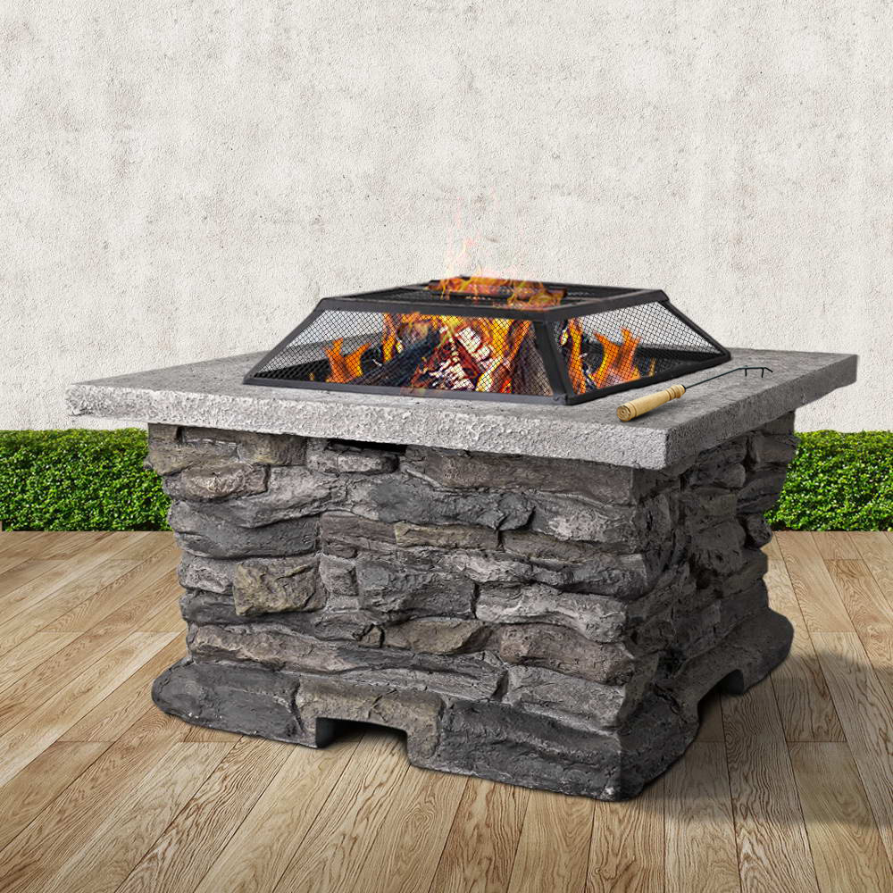 Outdoor Stone Fire Pit Table Buy Fire Pits