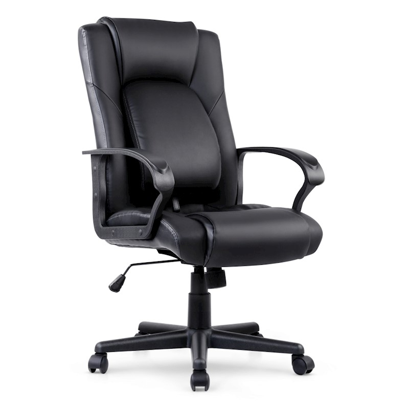 pu leather executive office chair black buy office chairs