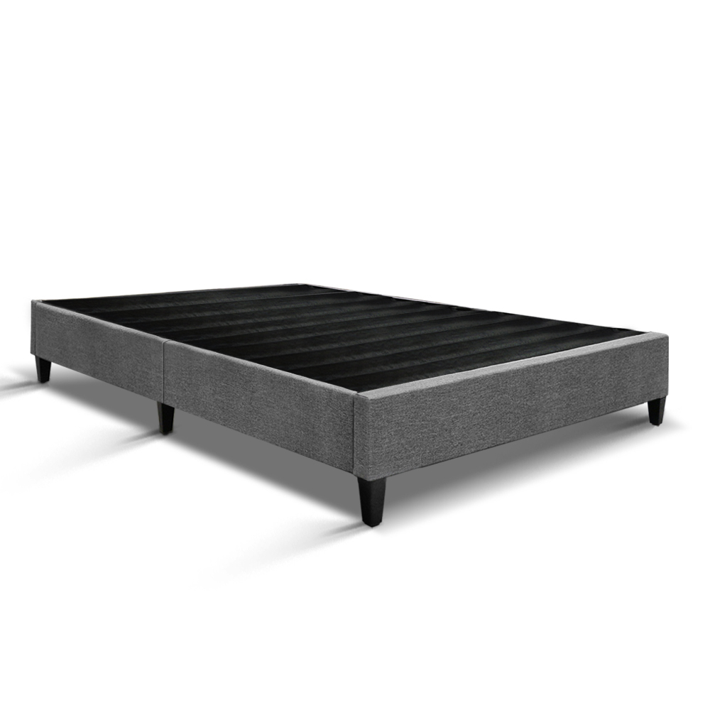 Artiss Queen Size Bed Base Frame Grey Buy Queen Size