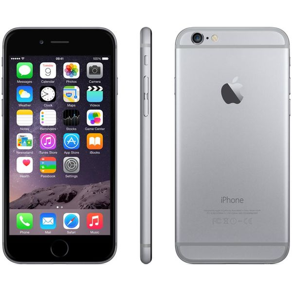 refurbished unlocked iphone black apple iphone 6 128gb unlocked refurbished buy 12854