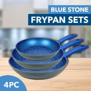 Blue Stone Non-Stick Frypan Sets