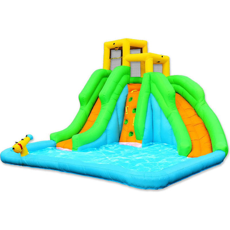 Inflatable Water Slide With Price: Splash & Slide Lagoon Inflatable Water Slide Park