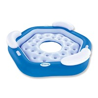 X3 3 Person Pool Inflatable Floating Island Raft