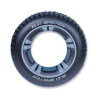 Bestway Inflatable Tube Pool Float Tyre in Black