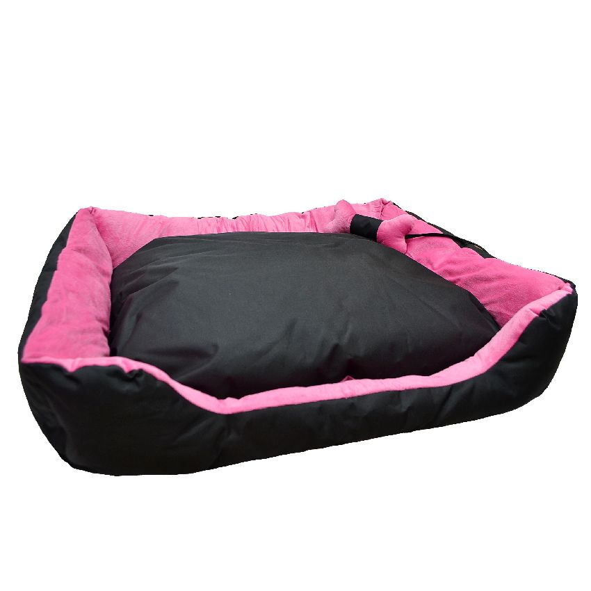 Dog cat pet bed cushion 4 sizes 3 colours w toy buy for Beds 3 4 size