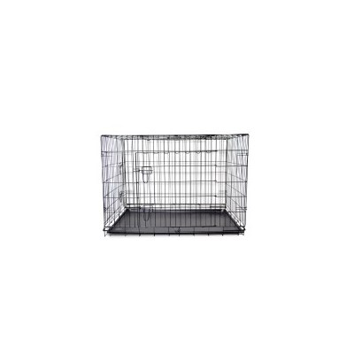 Collapsible Metal Dog Cage Travel Crate in 5 Sizes