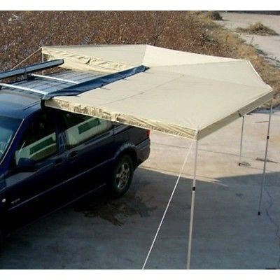 Skywing L Shape 4WD Camping Side Car Awning 25m