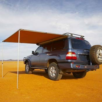 4WD Car Roof Top Camping Retractable Awning 3x3m