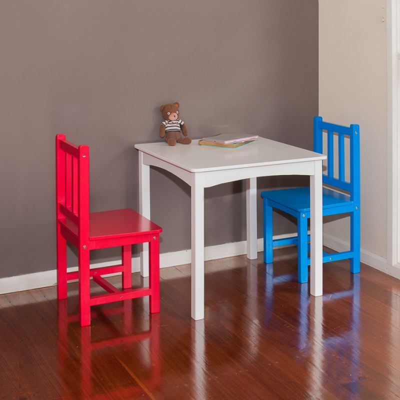 kids playroom wooden table