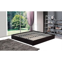 King Size PU Leather Ensemble Bed Base in Black