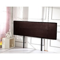 King Size PU Leather Headboard Bedhead in Brown