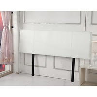 King Size PU Leather Bedhead Headboard in White