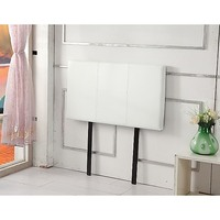 Single Size PU Leather Bed Headboard in White