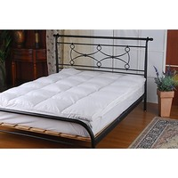 Queen Size Duck Feather Mattress Topper 650gsm